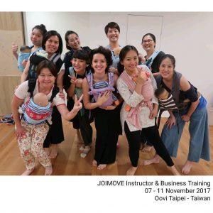 Joimove Training Taiwan ©Joimove 2017